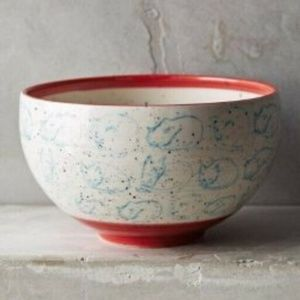Leah Goren for Anthropologie Cat Study Bowl